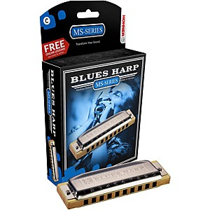 Hohner 532 Blues Harp MS-Series Harmonica by Hohner