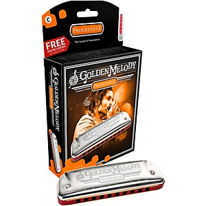 Hohner 542 Golden Melody Harmonica by Hohner