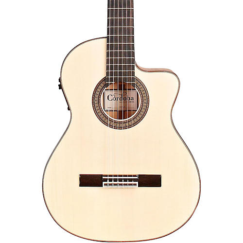 Cordoba 55FCE Acoustic-Electric Nylon String Flamenco Guitar-thumbnail