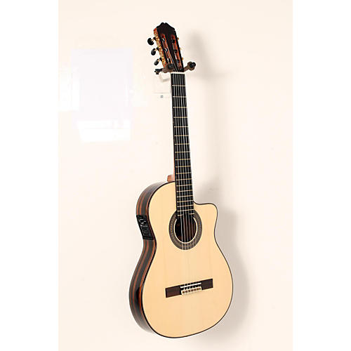 Cordoba 55FCE Flamenco Macassar Ebony Acoustic-Electric Nylon String Flamenco Guitar-thumbnail