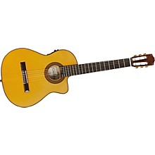 Cordoba 55FCE Thin Body Nylon String Acoustic-Electric Guitar