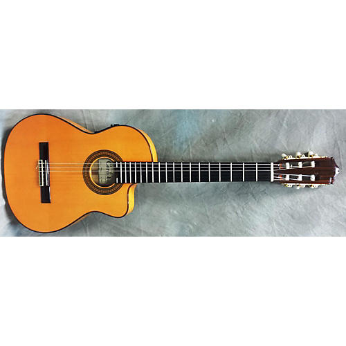 Cordoba 55FCE Thinbody Flamenco Classical Acoustic Electric Guitar