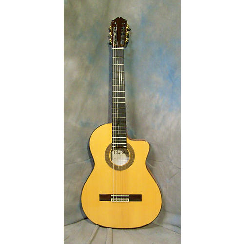 Cordoba 55FCE Thinbody Flamenco Classical Acoustic Electric Guitar-thumbnail