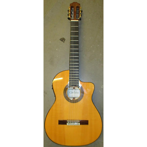 Cordoba 55FCE Thinbody Flamenco Classical Acoustic Electric Guitar-thumbnail