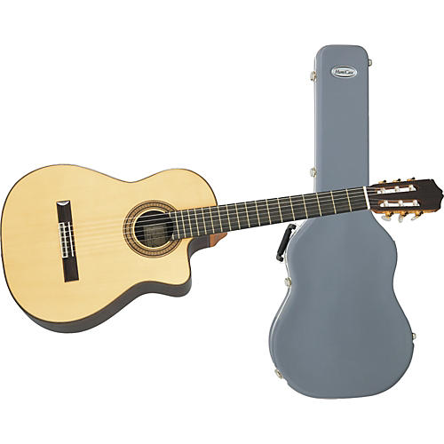 Cordoba 55RCE Classical Acoustic-Electric Guitar with Humicase