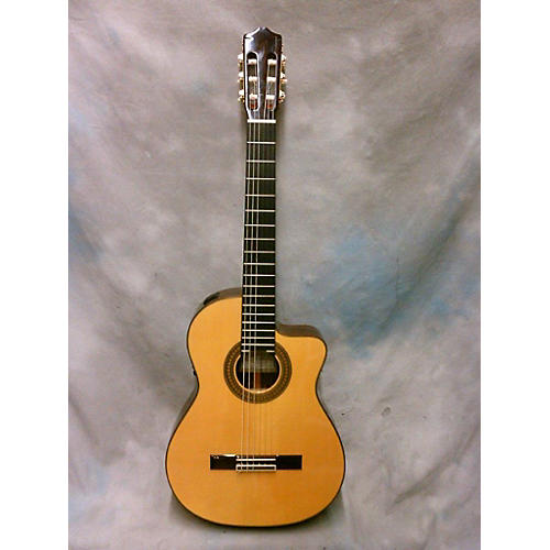 used cordoba 55rce classical acoustic electric guitar guitar center. Black Bedroom Furniture Sets. Home Design Ideas