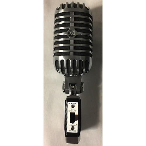 used shure 55sh series ii dynamic microphone guitar center. Black Bedroom Furniture Sets. Home Design Ideas