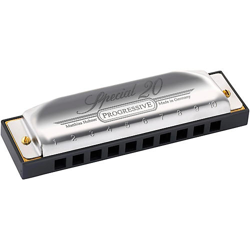 Hohner 560 Special 20 Harmonica with Country Tuning-thumbnail