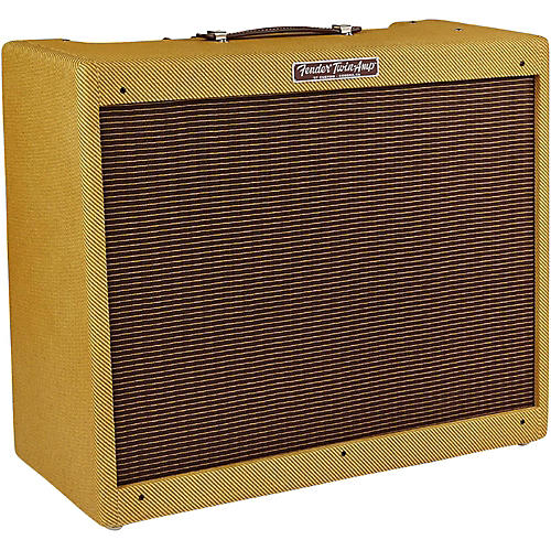 Fender '57 Custom Twin 40W 2x12 Tube Guitar Amp-thumbnail