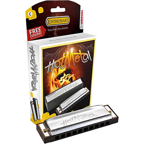 Hohner 572 Hot Metal Harmonica A
