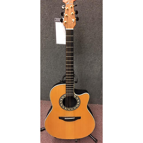 Ovation 5777-4ES Acoustic Electric Guitar-thumbnail