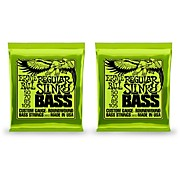 Ernie Ball 2832 Regular Slinky Round Wound Bass Strings 2 Pack