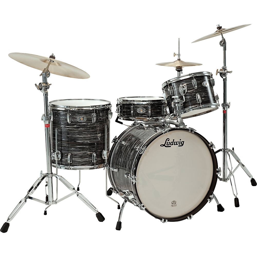 Ludwig Legacy Classic Liverpool 4 Floor Tom 16 X 16 In. Black Oyster Pearl 1274115057793