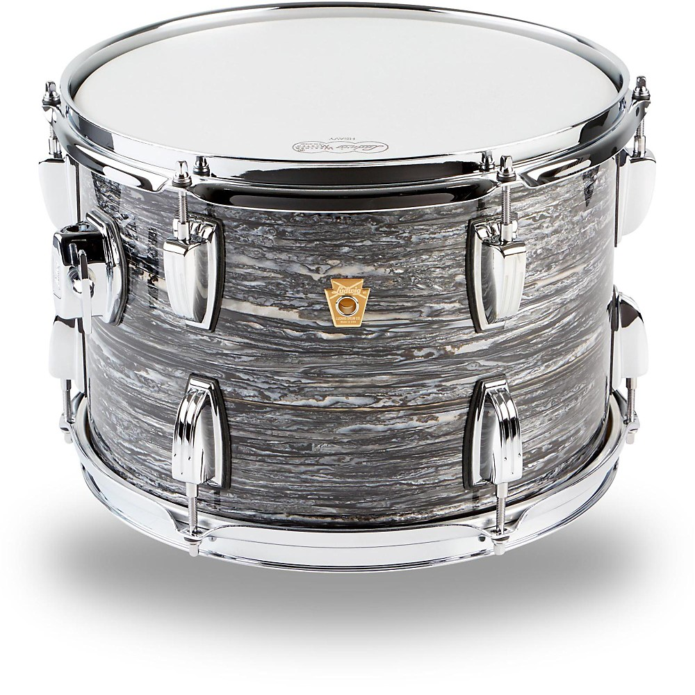 Ludwig Legacy Classic Liverpool 4 Tom 13 X 9 In. Black Oyster Pearl 1274115057934