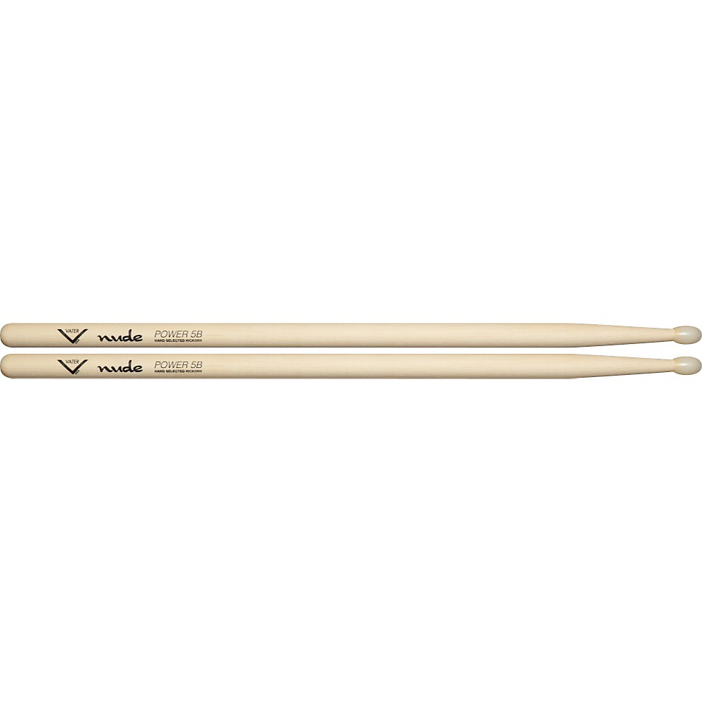 Vater Nude Series Fusion Drumsticks Power 5B Nylon 1279141555517