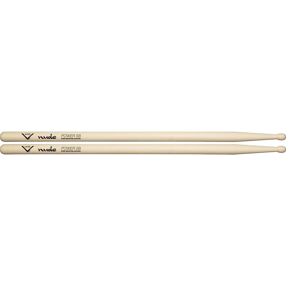 Vater Nude Series Fusion Drumsticks Power 5B Wood 1279141555533