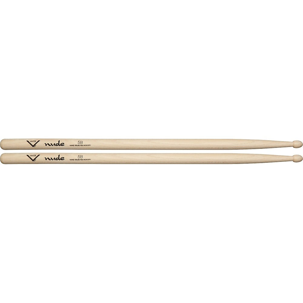Vater Nude Series Fusion Drumsticks 5B Wood 1279141555523