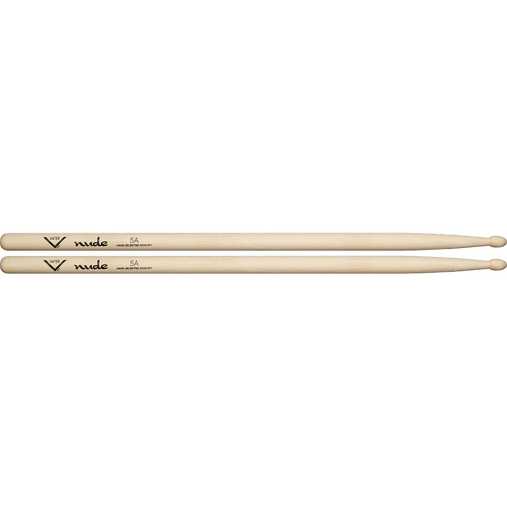 Vater Nude Series Fusion Drumsticks 5A Wood 1279141555534