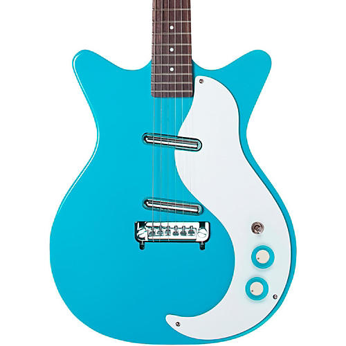 danelectro 39 59 modified new old stock electric guitar baby come back blue guitar center. Black Bedroom Furniture Sets. Home Design Ideas