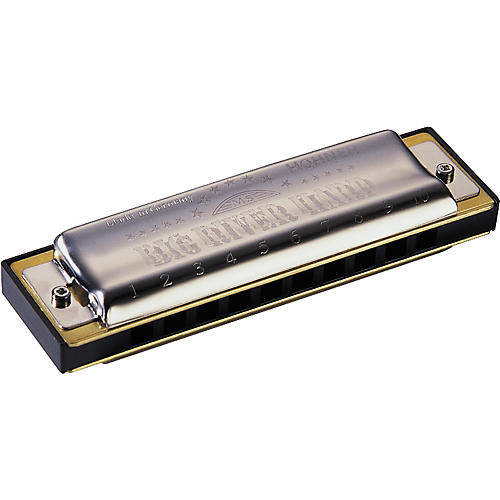 Hohner 590 Big River Harp Low Tuning MS-Series Harmonica