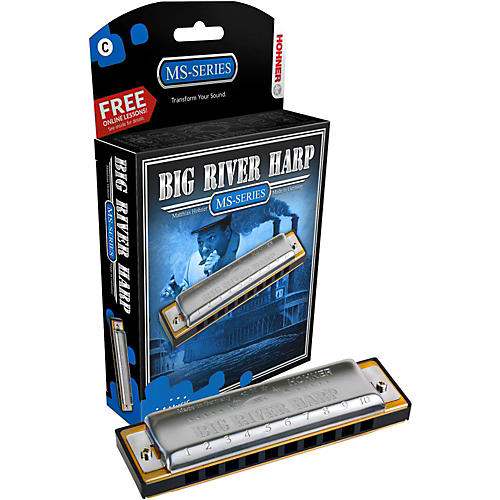 Hohner 590 Big River MS-Series Harmonica-thumbnail