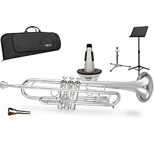 Getzen 590S Capri Series Bb Trumpet Gift Kit by Getzen