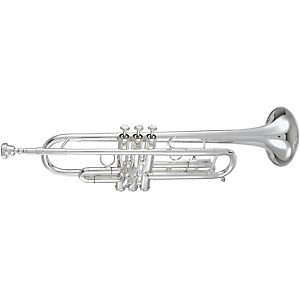 Getzen 590S-S Capri Series Bb Trumpet with 1st Valve Saddle by Getzen
