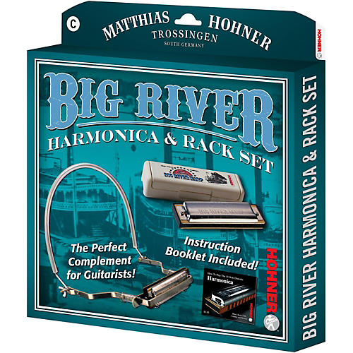 Hohner 590X Big River Harmonica Instruction Pack-thumbnail