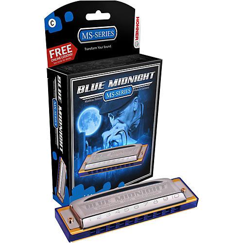 Hohner 595BL Blue Midnight Harmonica Key of C