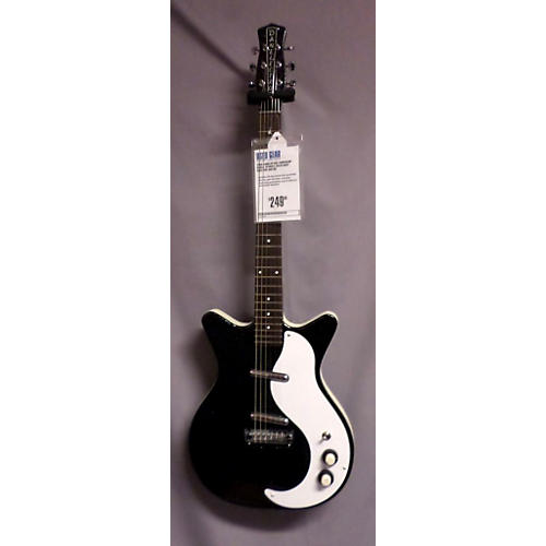 Danelectro 59MFBKMF BLACK SPARKLE Solid Body Electric Guitar