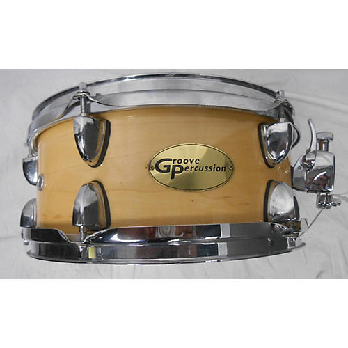 used groove percussion 5x10 maple drum guitar center. Black Bedroom Furniture Sets. Home Design Ideas