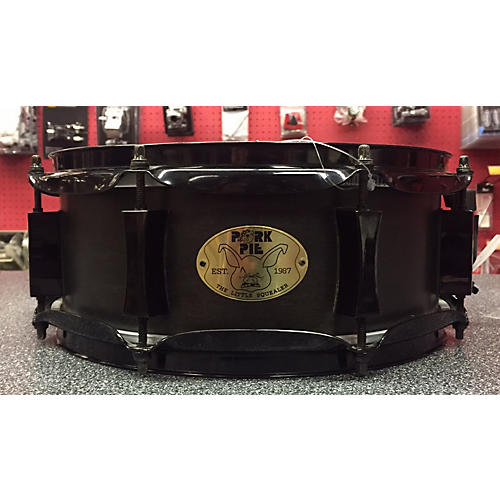 Pork Pie 5X12 Little Squealer Snare Black Drum-thumbnail