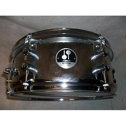 Sonor 5X12 Martini Steel Snare Drum