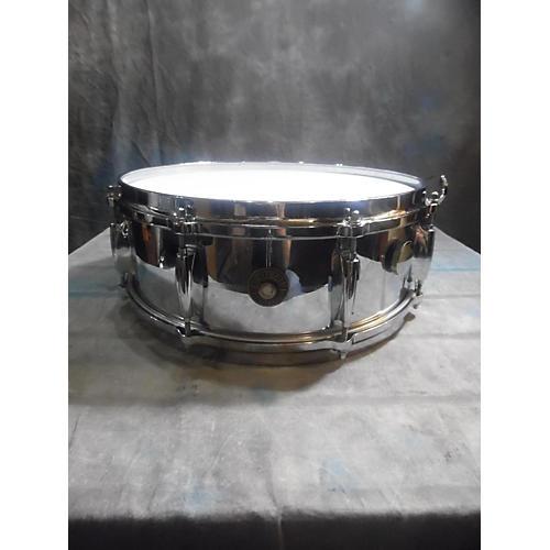 Gretsch Drums 5X14 4160 Chrome Over Brass Drum