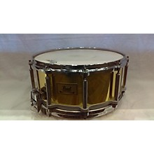 Pearl 5X14 Brass Free Floater Drum