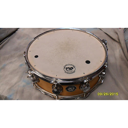 DW 5X14 COLLECTOR'S TEN AND SIX ALL MAPLE NATURAL SATIN Drum