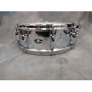 Slingerland 5X14 Chrome Over Brass Drum