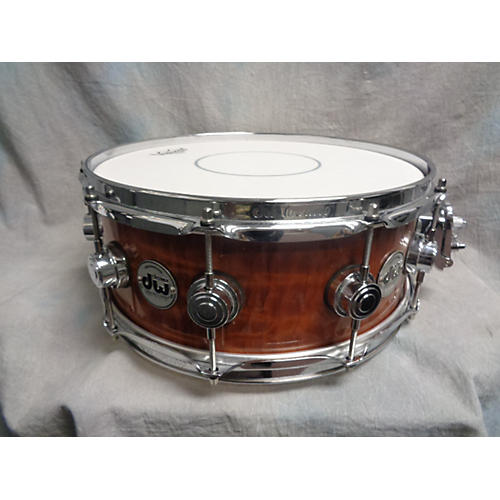 DW 5X14 Collector's Series Cherry Snare Drum-thumbnail