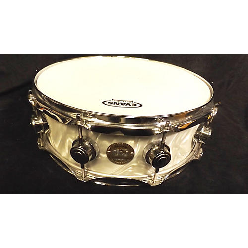 DW 5X14 Collector's Series Finish Ply Maple Mahogany Snare Drum