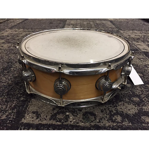 DW 5X14 Collector's Series Snare Drum Natural 8