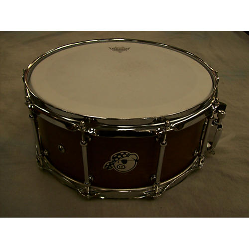 Pork Pie USA 5X14 Custom African Mahogany Drum-thumbnail