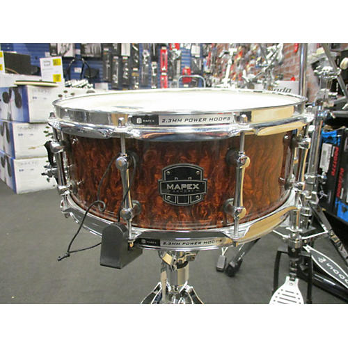 Mapex 5X14 Dilinger Snare Drum Natural 8