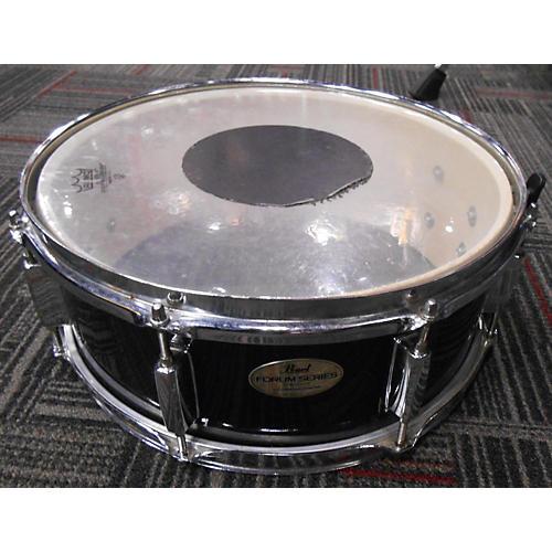 Pearl 5X14 Forum Series Snare Black Drum