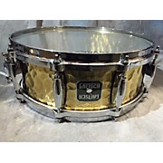 Gretsch Drums 5X14 Hammered Brass Drum