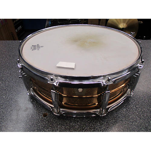Ludwig 5X14 LB550 BRONZE SNARE Drum-thumbnail