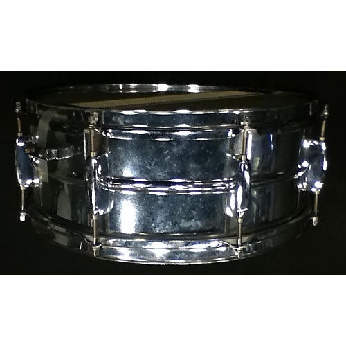 Pearl 5X14 Mirror Chrome Steel Shell Drum