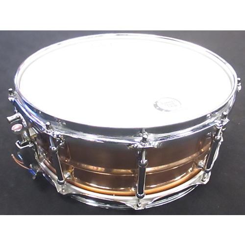 Pearl 5X14 Sensitone Snare Drum BRONZE 8