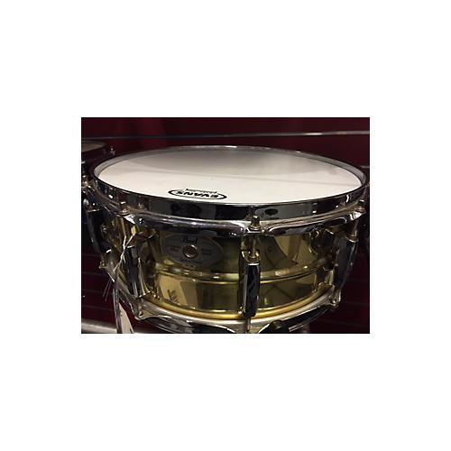 Pearl 5X14 Sensitone Snare Drum Brass 8