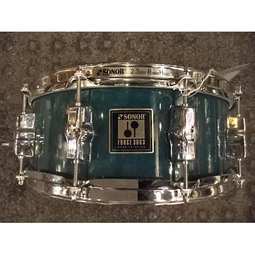 Remo 5X14 Sonor Forge 3003 Drum Green 8