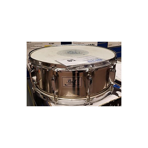 Pearl 5X14 Steel Shell Snare Drum